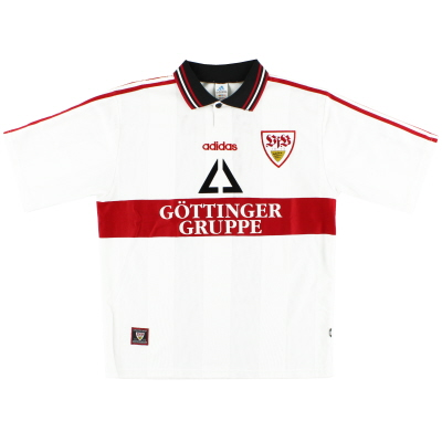 1997-98 Stuttgart Home Shirt Y