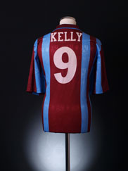 1997-98 Tranmere Rovers Away Shirt Kelly #9 L