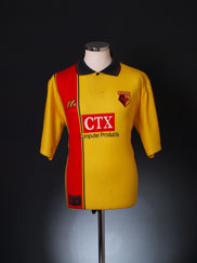1997-98 Watford Home Shirt M