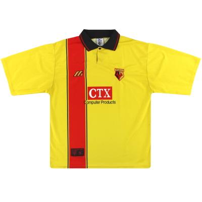 1997-98 Watford Mizuno Home Shirt XL