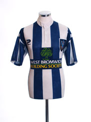 1997-98 West Brom Home Shirt *Mint* M