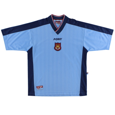 1997-98 West Ham Away Shirt L
