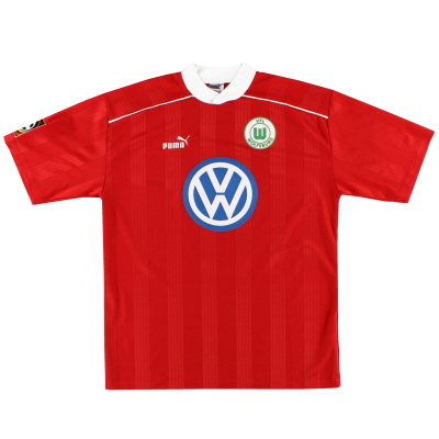 1997-98 Wolfsburg Training Shirt XL
