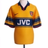 1997-99 Arsenal Away Shirt Overmars #11 XL