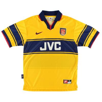 1997-99 Arsenal Away Shirt S