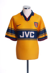 1997-99 Arsenal Away Shirt M.Boys