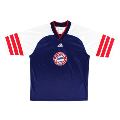 1997-99 Bayern Munich adidas Training Shirt Y