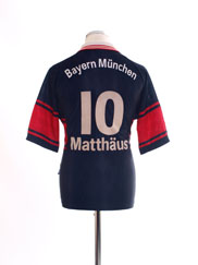 1997-99 Bayern Munich Home Shirt Matthaus #10 S