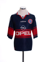 1997-99 Bayern Munich Home Shirt M