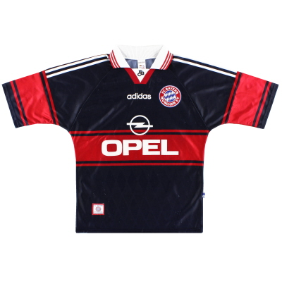 1997-99 Bayern Munich Home Shirt #19 XL