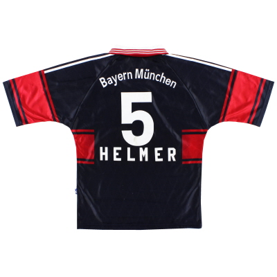 1997-99 Bayern Munich Home Shirt Helmer #5 S