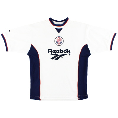 1997-99 Bolton Reebok Home Shirt