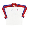 1997-99 Catania Match Issue Away Shirt L/S #9 L
