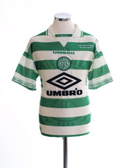 1997-99 Celtic 'Champions' Home Shirt M