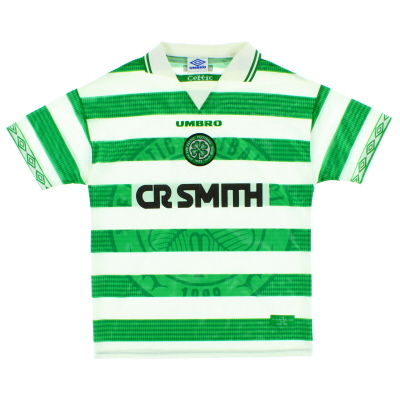 1997-99 Celtic Home Shirt L