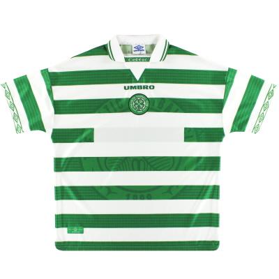 1997-99 Celtic Umbro Home Shirt XXL