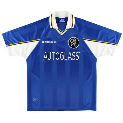 1997-99 Chelsea Umbro Home Shirt L
