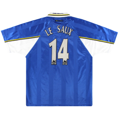 1997-99 Chelsea Umbro Home Shirt Le Saux #14 XL