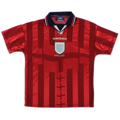 1997-99 England Away Shirt L