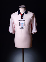 1997-99 England Home Shirt XL