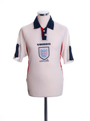 1997-99 England Home Shirt M