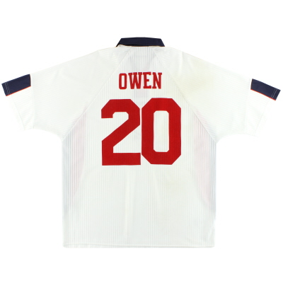 1997-99 England Umbro Home Shirt Owen #20 XXL