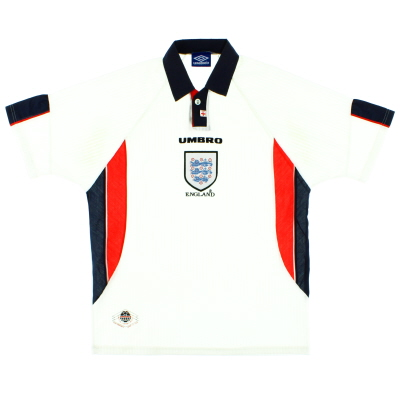 1997-99 England Umbro Home Shirt L