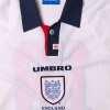1997-99 England Youth Match Issue Home Shirt #18 L/S XL