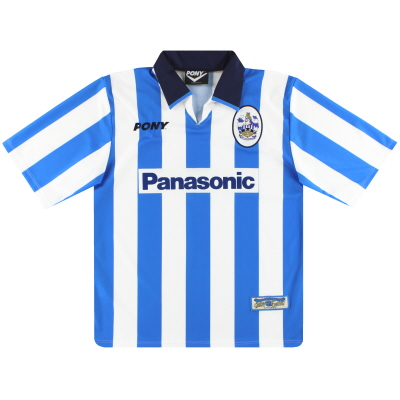 1997-99 Huddersfield Town Pony Home Shirt *Mint* L