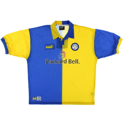 1997-99 Leeds Away Shirt XL