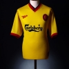 1997-99 Liverpool Away Shirt Ince #17 *Mint* L