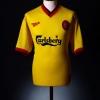 1997-99 Liverpool Away Shirt Owen #10 L
