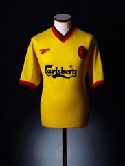 1997-99 Liverpool Away Shirt L