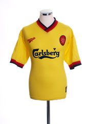 1997-99 Liverpool Away Shirt M