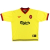 1997-99 Liverpool Reebok Away Shirt Redkanpp #11 L
