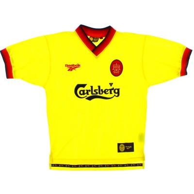 1997-99 Liverpool Reebok Away Shirt L