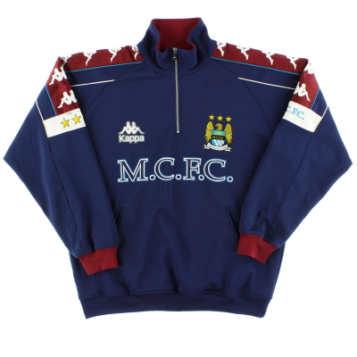 1997-99 Manchester City Kappa Drill Top XL