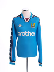 1997-99 Manchester City Home Shirt L/S XL