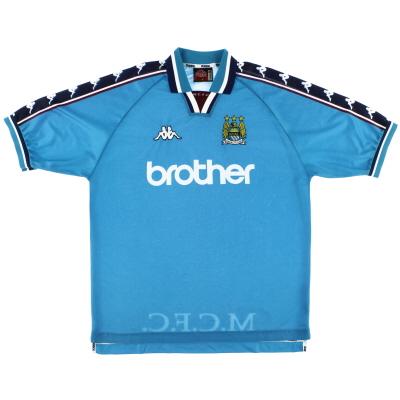 1997-99 Manchester City Home Shirt XL