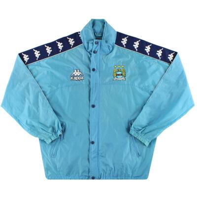 1997-99 Manchester City Kappa Rain Jacket L