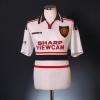 1997-99 Manchester United Away Shirt G.Neville #2 XL