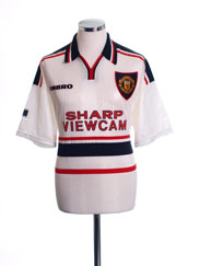 1997-99 Manchester United Away Shirt XL