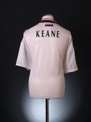 1997-99 Manchester United Away Shirt Keane XXL