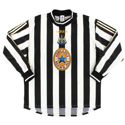 1997-99 Newcastle adidas Home Shirt L/S XL