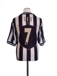 1997-99 Newcastle Home Shirt Lee #7 L