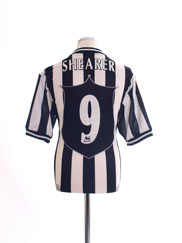1997-99 Newcastle Home Shirt Shearer #9 L