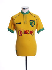1997-99 Norwich City Home Shirt S