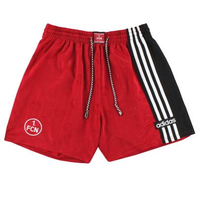 1997-99 Nurnberg adidas Home Shorts XL