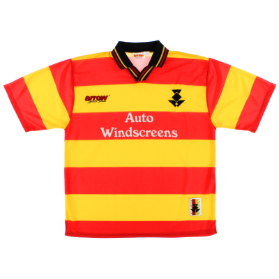 1997-99 Partick Thistle Home Shirt *Mint* XL