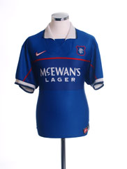 1997-99 Rangers Home Shirt XL.Boys